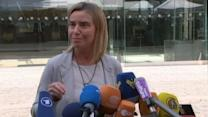 EU Foreign Policy Chief Announces Flexibility With Iran Nuclear Deadline
