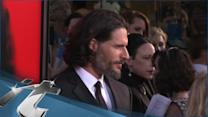 TV News Pop: Joe Manganiello Uses His Nuts To Sell His Magnum At New Store Opening!