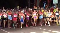 Honolulu marathon sees record numbers enter race