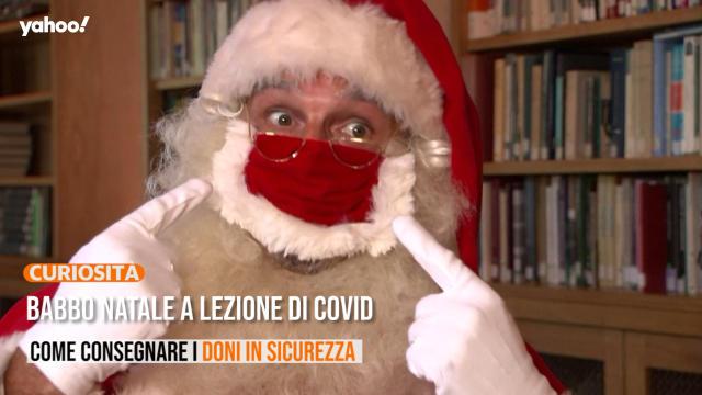 A Che Ora Arriva Babbo Natale.Babbo Natale A Lezione Di Covid