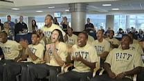 Pitt Panthers Celebrate NCAA Seed Announcement