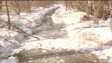 Small Wisconsin Town Uses Dynamite To Blow Up Ice Dam