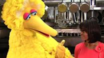 Big Bird, Michelle Obama push healthy eating habits