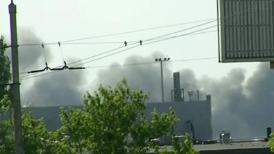Raw: Ukraine Launches Airstrikes in Donetsk