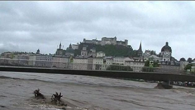 Widespread flooding across Europe