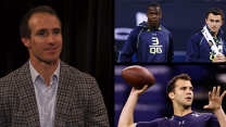 Drew Brees on Blake Bortles, Teddy Bridgewater and Johnny Manziel