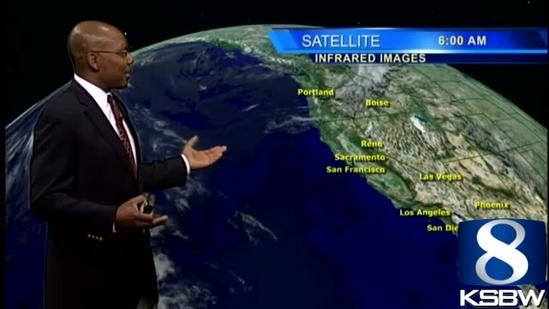 Get Your Wednesday KSBW Weather Forecast 10.16.13