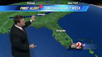 Wetter pattern continues