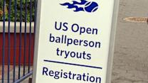 US Open ballperson tryouts