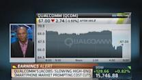 Slowing high-end hits Qualcomm