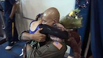 Special military homecoming for Calif. family