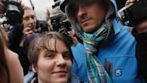 Moscow court frees 1 of 3 Pussy Riot members