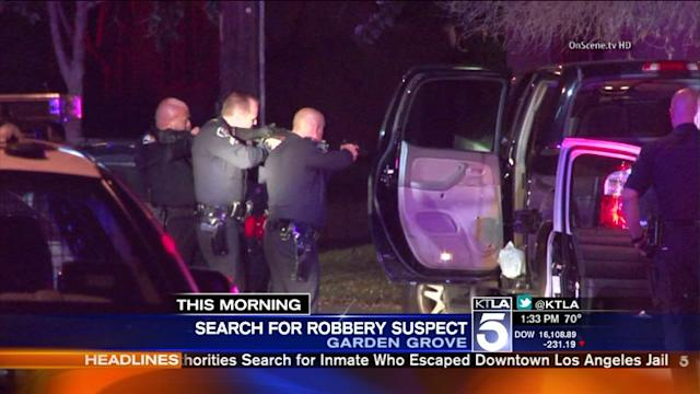 O.C. Police Pursuit Ends in Officer-Involved Shooting