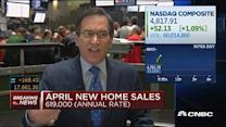 April new home sales post, biggest rise in 8 years