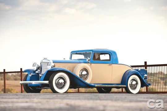 Marmon Sixteen Coupe為1930年代相當具代表性的美系高級車,見證了二戰前的流金歲月,對比以往的成交價大約在百萬美元上下,因此這次拍出的身價算是符合預期。