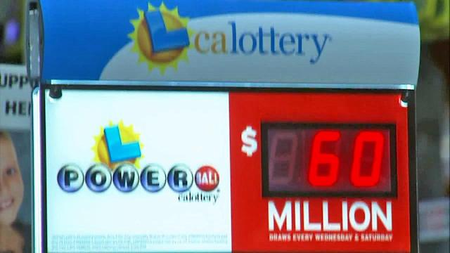California sees power of the Powerball; jackpot starts at $60 million