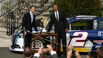 President Obama honors Keselowski