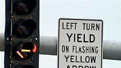 Flashing Yellow Arrow May Confuse Some Drivers