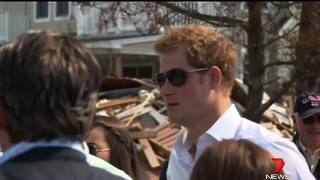 Prince Harry tours New Jersey
