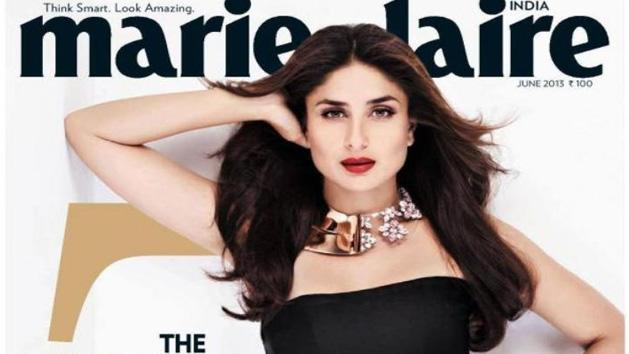 HOT or NOT- Kareena Kapoor Rocks On the Cover Of Marie Claire