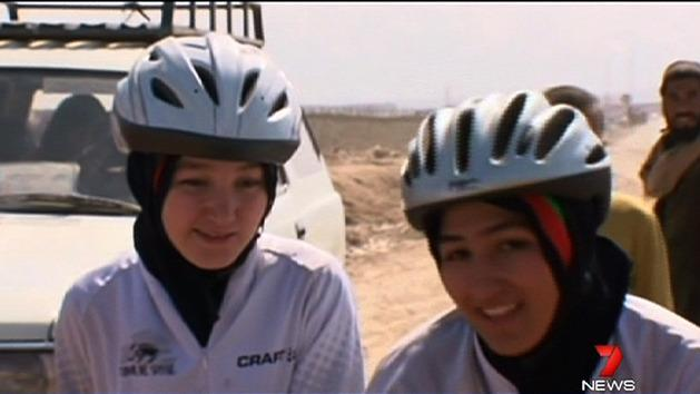 Afghan women leading cycling revolution