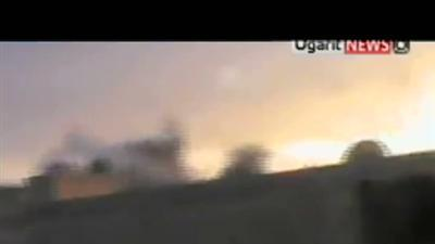 Raw Video: Activists: Syrian forces shell Rastan
