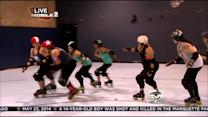 Vince Gives Roller Derby A Spin