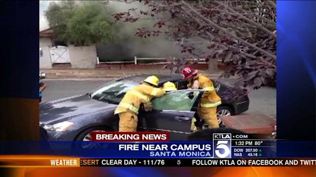 Fire and Car Hijacking Possibly Connected to Shooting