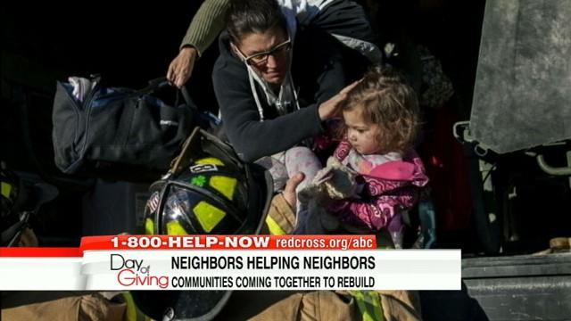 Overcoming Sandy: Beachfront Towns Burned, Flooded After Storm