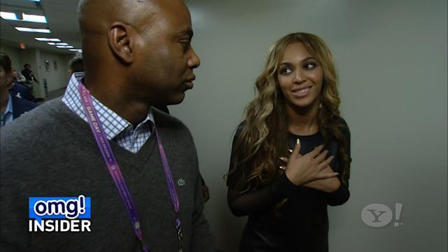 EXCLUSIVE: Beyoncé Talks to 'omg! Insider' About Her Super Bowl Halftime Show