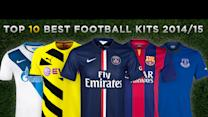 Top 10 BEST Football Kits 2014/15