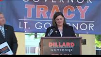 IL. Sen. Kirk Dillard chooses state Rep. Jil Tracy as running mate