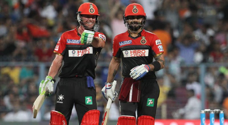 Kohli and ABD was unstoppable with the bat in 2016