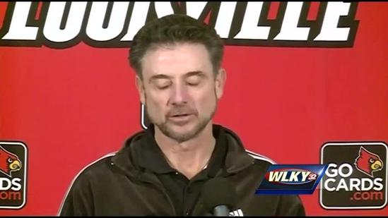 Complete video: Rick Pitino talks Temple on Wednesday