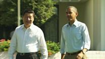 "Talks with Chinese president have been ""terrific,"" Obama says"