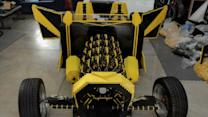 'Outrageous Acts of Science': Car Made Entirely Out of Legos