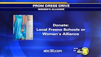 Women's Alliance collects prom dresses for girls in need