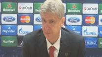 Wenger happy with Arsenal control of game