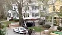 Video of police shootout in Watertown, MA goes viral