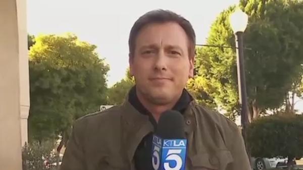 KTLA anchors mourn the sudden death of Chris Burrous