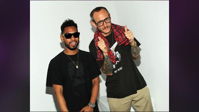 Miguel Has A Laid Back Photo Shoot At Terry Richardson's Studio