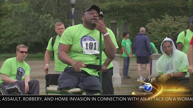 ABC7 Chicago Salutes: Valor Games Midwest athletes
