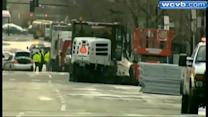 Officials working to reopen roads