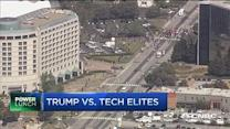Trump vs. tech elites