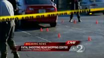 1 killed, 1 hurt in shopping center shooting
