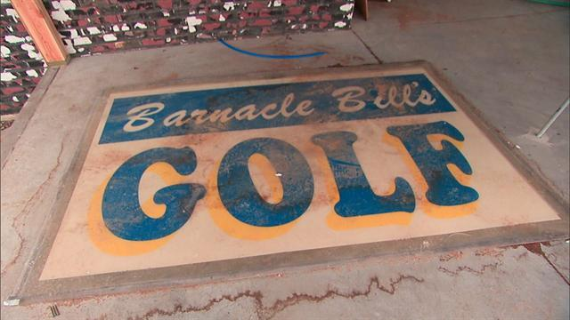 Battered mini-golf course gets back on its feet