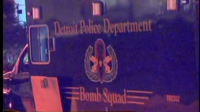 Bomb scare downtown