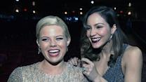 'Smash' Stars Giddy by Globes Nod