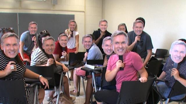 Sam Champion Goes Back to School in Kentucky