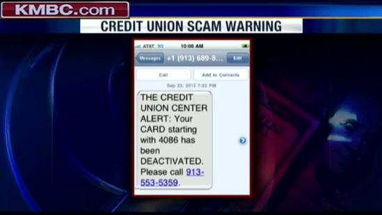 Cellphone messages linked to ID theft scam